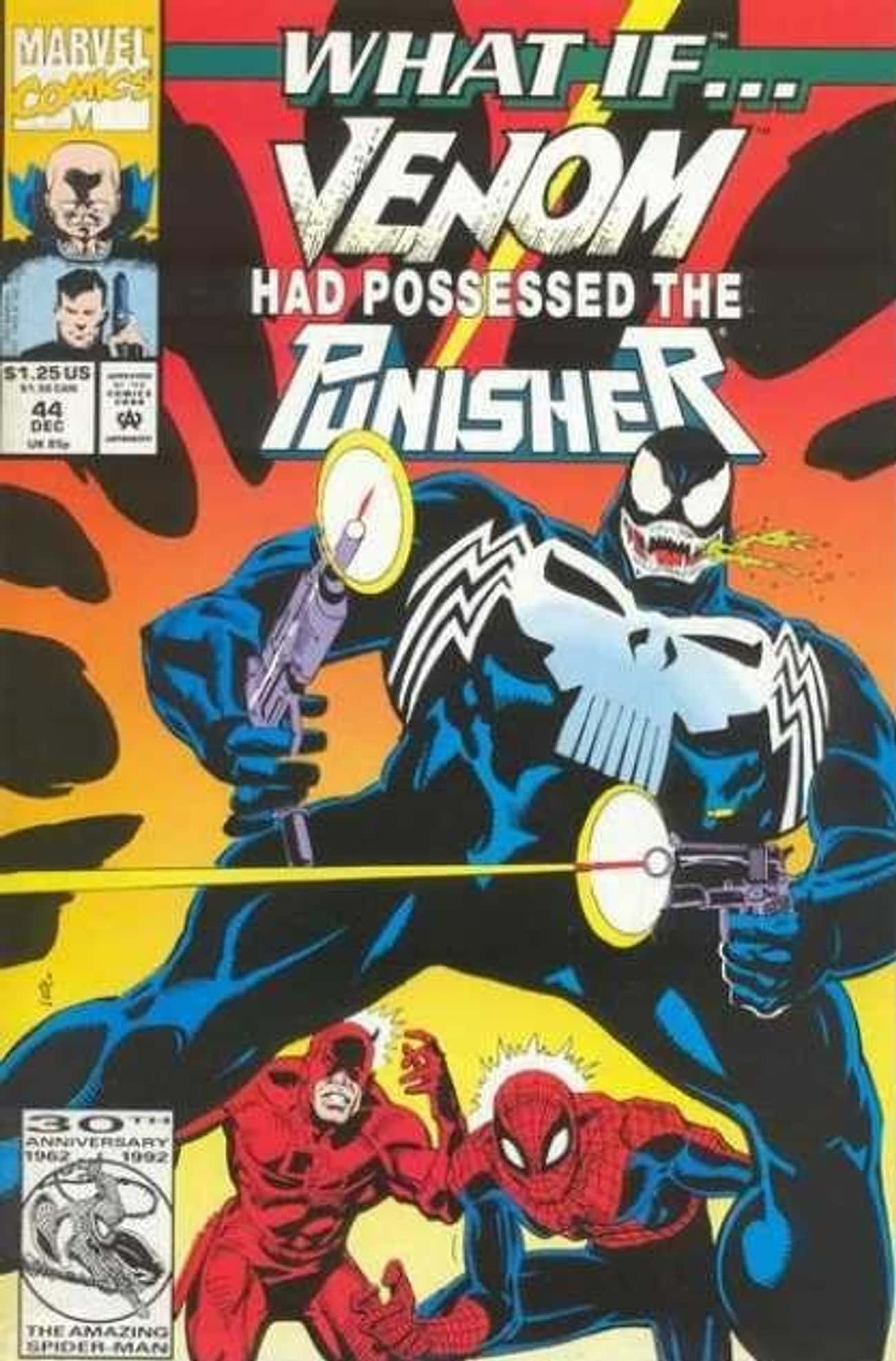 Punisher Venom is listed (or ranked) 1 on the list Most Violent And Twisted Incarnations Of Venom in Comic Book History