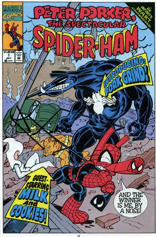Pork Grind is listed (or ranked) 3 on the list Most Violent And Twisted Incarnations Of Venom in Comic Book History