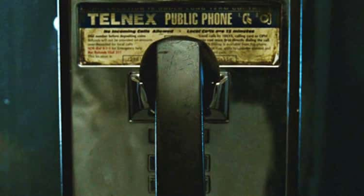 Tyler Calls The Narrator At A Phone Booth With No Incoming Calls