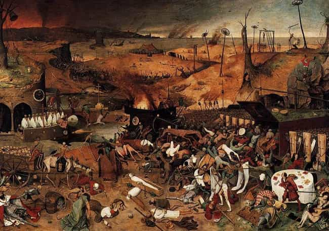 The Black Death Caused An Econ... is listed (or ranked) 1 on the list What Happened After The Black Death Wiped Out More Than Half Of Europe's Population