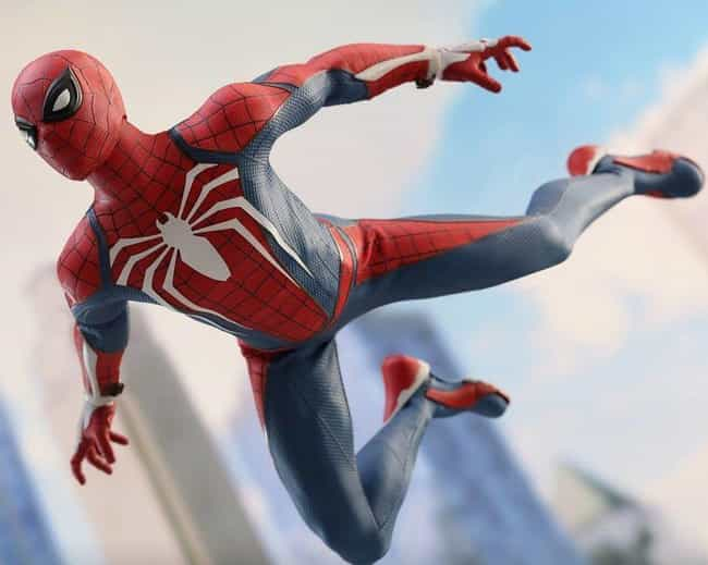 Advanced Suit is listed (or ranked) 1 on the list The Best Spider-Man PS4 Suits, Ranked