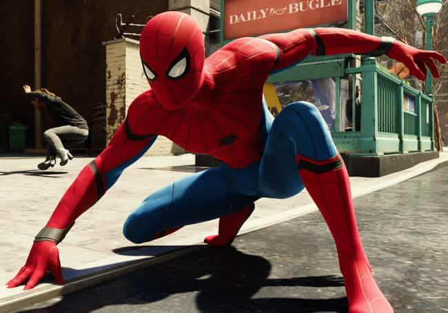 Stark Suit is listed (or ranked) 2 on the list The Best Spider-Man PS4 Suits, Ranked