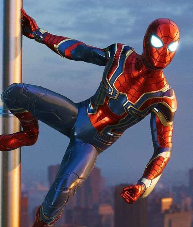 Iron Spider Suit is listed (or ranked) 3 on the list The Best Spider-Man PS4 Suits, Ranked