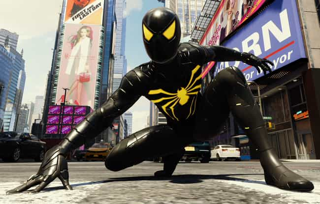 Anti-Ock Suit is listed (or ranked) 4 on the list The Best Spider-Man PS4 Suits, Ranked