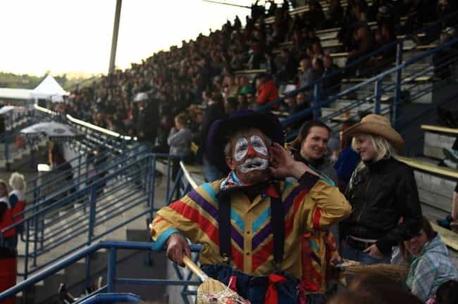 They Need To Know Very Precise... is listed (or ranked) 3 on the list Being A Rodeo Clown Is A Way More Dangerous Job Than You Ever Imagined
