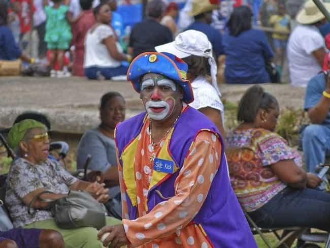 They Wear Loose Clothing is listed (or ranked) 4 on the list Being A Rodeo Clown Is A Way More Dangerous Job Than You Ever Imagined