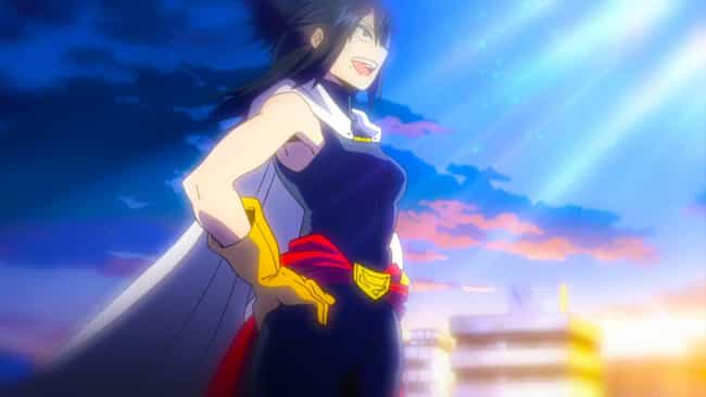 Nana Shimura is listed (or ranked) 3 on the list The 25 Best Professional Heroes In 'My Hero Academia'