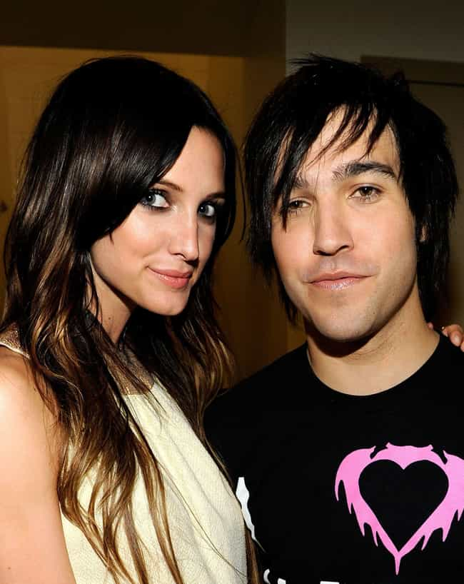 She And Pete Wentz Got D... is listed (or ranked) 8 on the list Whatever Happened To Ashlee Simpson?