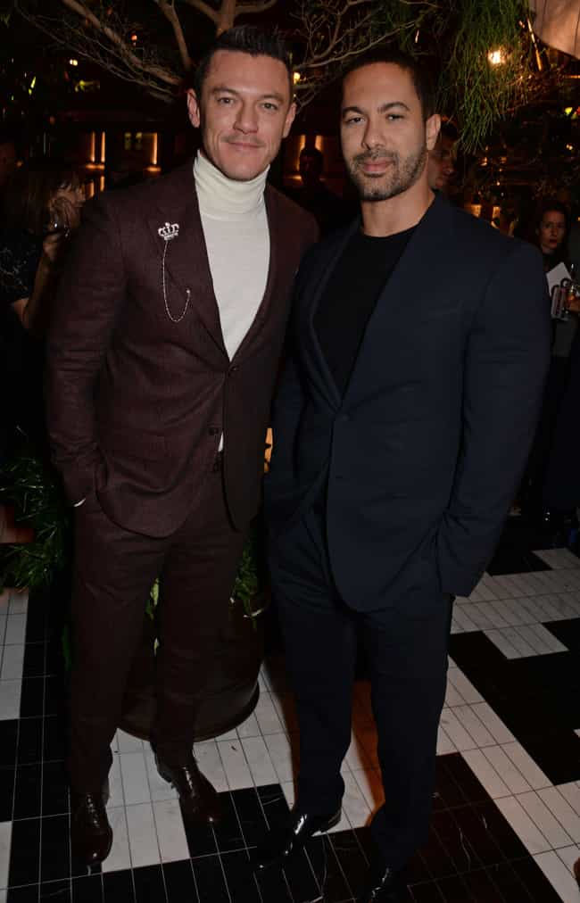 Victor Turpin is listed (or ranked) 2 on the list Luke Evans Loves and Hookups