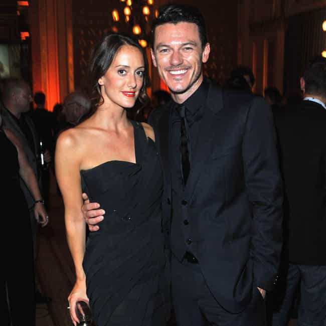 Holly Goodchild is listed (or ranked) 3 on the list Luke Evans Loves and Hookups