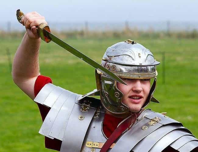 They Carried Mighty Weapons is listed (or ranked) 4 on the list What It Was Like To Be On The Front Lines Of An Ancient Roman Battle