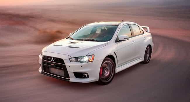 2015 Mitsubishi Lancer Evoluti... is listed (or ranked) 4 on the list List of Popular Mitsubishi Lancers