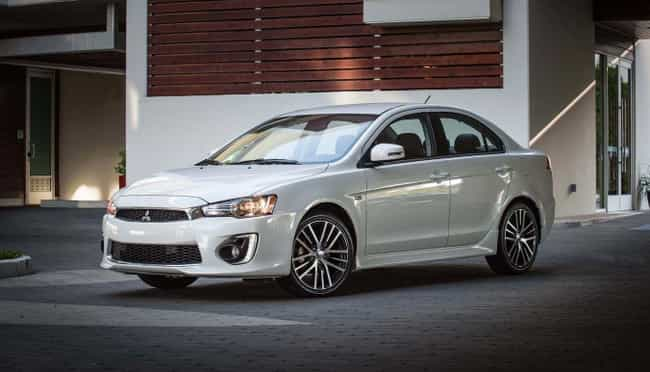 2017 Mitsubishi Lancer LE is listed (or ranked) 2 on the list List of Popular Mitsubishi Lancers