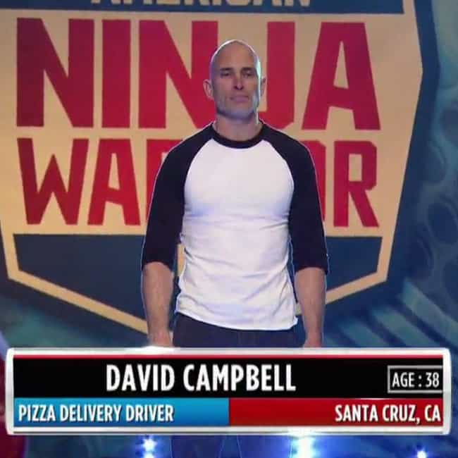 David Campbell is listed (or ranked) 6 on the list The Best 'American Ninja Warrior' Winners, Ranked