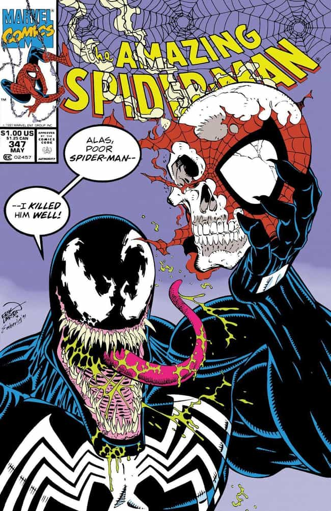 'The Amazing Spider-Man' #347 is listed (or ranked) 1 on the list All The Times Venom Totally Owned Spider-Man
