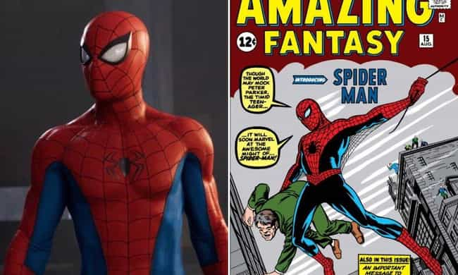 Here's Where Every Suit In 'Marvel's Spider-Man' For PS4 Comes From In The  Comics