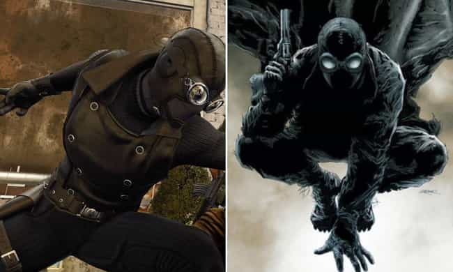 The Spider-Man Noir Suit is listed (or ranked) 4 on the list Here's Where Every Suit In 'Marvel's Spider-Man' For PS4 Comes From In The Comics
