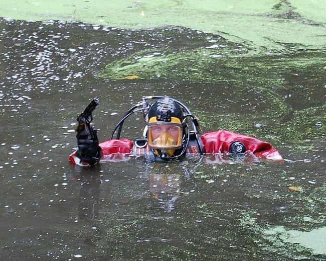 Divers Bring Up More Tha... is listed (or ranked) 4 on the list A Look Into The World Of Rescue And Recovery Divers, Who Experience Real Terrors Everyday