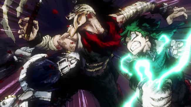 Midoriya, Iida, & Todoroki Vs.... is listed (or ranked) 2 on the list The 14 Best My Hero Academia Fights (So Far)