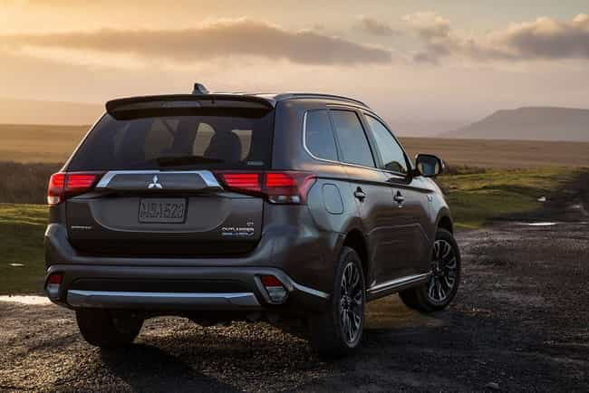 2018 Mitsubishi Outlander is listed (or ranked) 2 on the list List of Popular Mitsubishi Sport utility vehicles