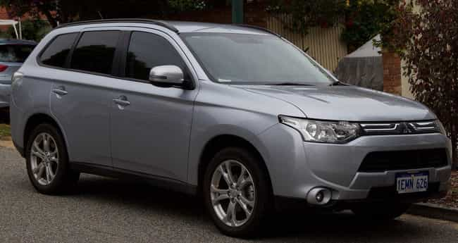 2016 Mitsubishi Outlander is listed (or ranked) 4 on the list List of Popular Mitsubishi Sport utility vehicles