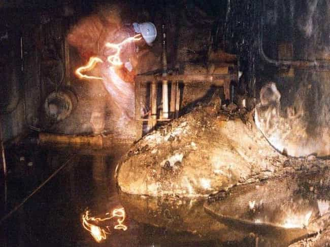 The Elephant's Foot Was A Side... is listed (or ranked) 1 on the list Chernobyl's Most Dangerous Radioactive Material Is Still Slowly Burning A Hole Through The Earth