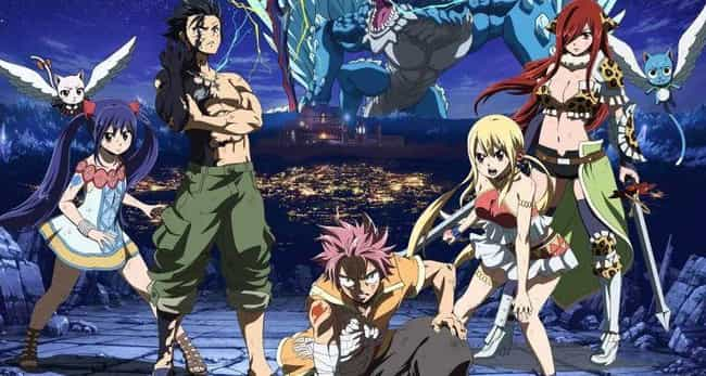 Fairy Tail is listed (or ranked) 3 on the list The Best Fall 2018 Anime That You Should Be Watching