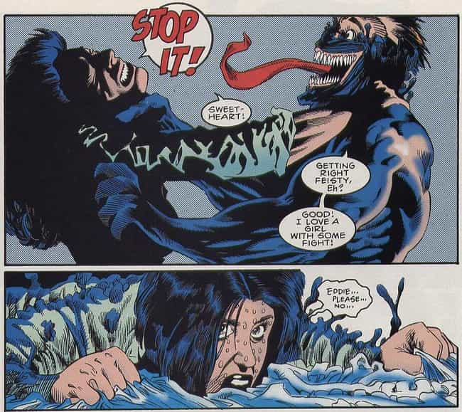 Venom Tried To Sexually Assaul... is listed (or ranked) 1 on the list The Most Violent And Disturbing Venom Moments In Marvel Comics