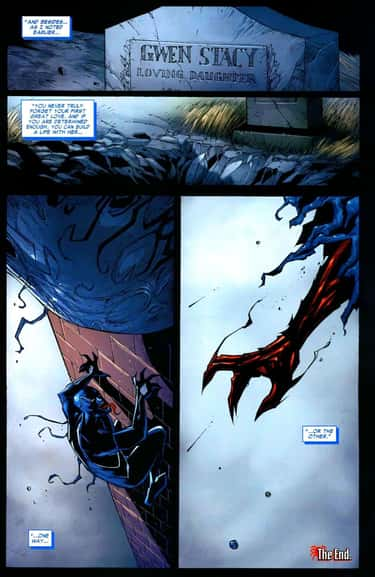 Venom Animated A Corpse And Go is listed (or ranked) 2 on the list The Most Violent And Disturbing Venom Moments In Marvel Comics