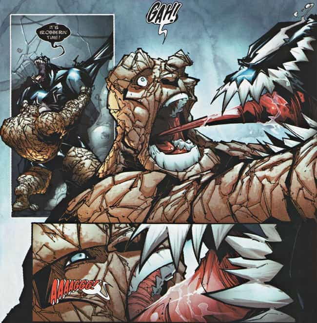 Venom Made Out With The Thing is listed (or ranked) 3 on the list The Most Violent And Disturbing Venom Moments In Marvel Comics