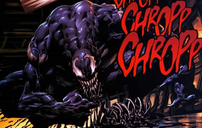 Venom Forced His Host(s) To Ea... is listed (or ranked) 4 on the list The Most Violent And Disturbing Venom Moments In Marvel Comics