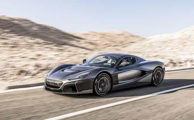 Rimac C_Two is listed (or ranked) 1 on the list The Coolest Green Cars on the Market Today