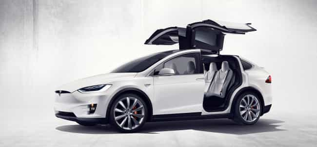 Tesla Model X is listed (or ranked) 4 on the list The Coolest Green Cars on the Market Today