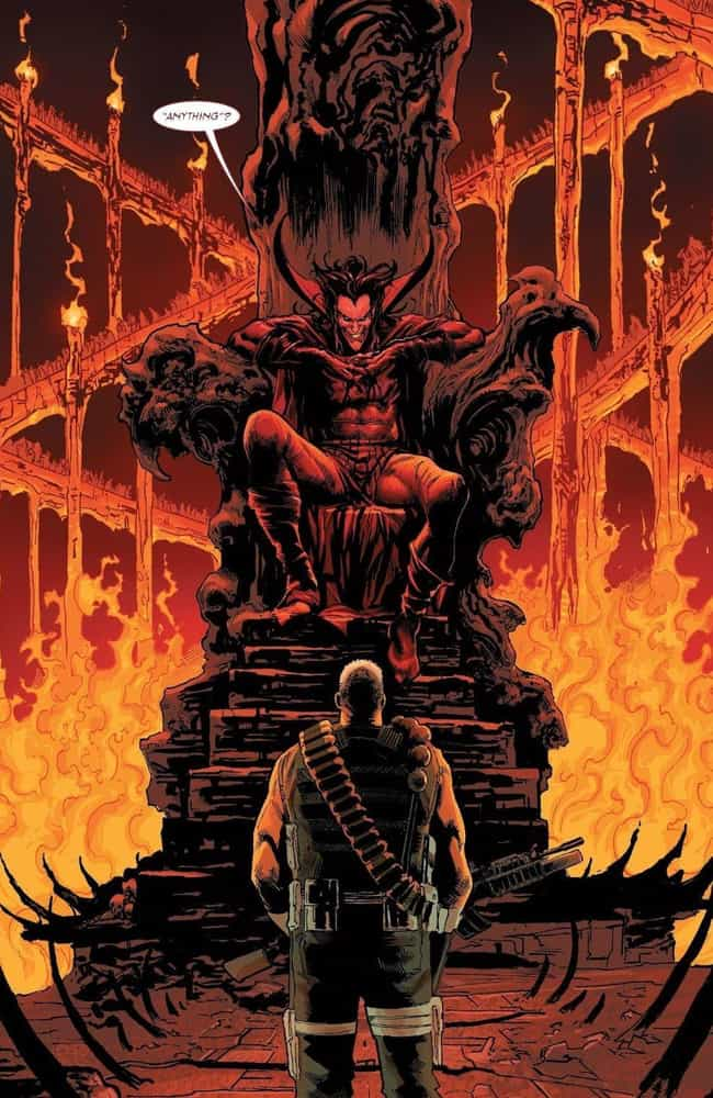 The Punisher Goes To Hell, Whe... is listed (or ranked) 3 on the list How The Punisher Became The Cosmic Ghost Rider And Why He's Road-Tripping With A Baby Thanos