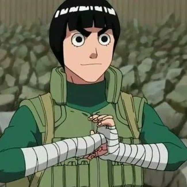 Never Losing Sights of H... is listed (or ranked) 2 on the list The Best Rock Lee Quotes