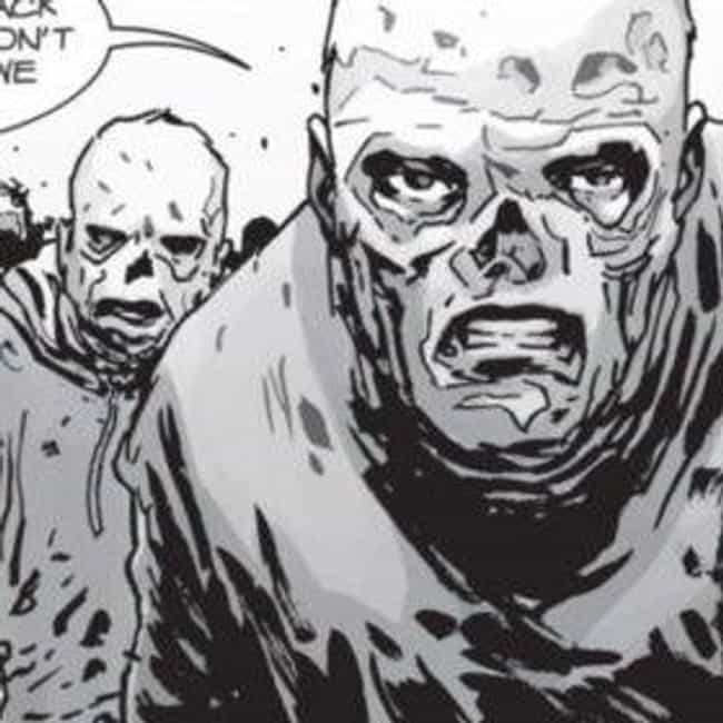 They Travel In Zombie Hordes is listed (or ranked) 2 on the list Everything You Need To Know About 'The Walking Dead's' New Villains, The Whisperers