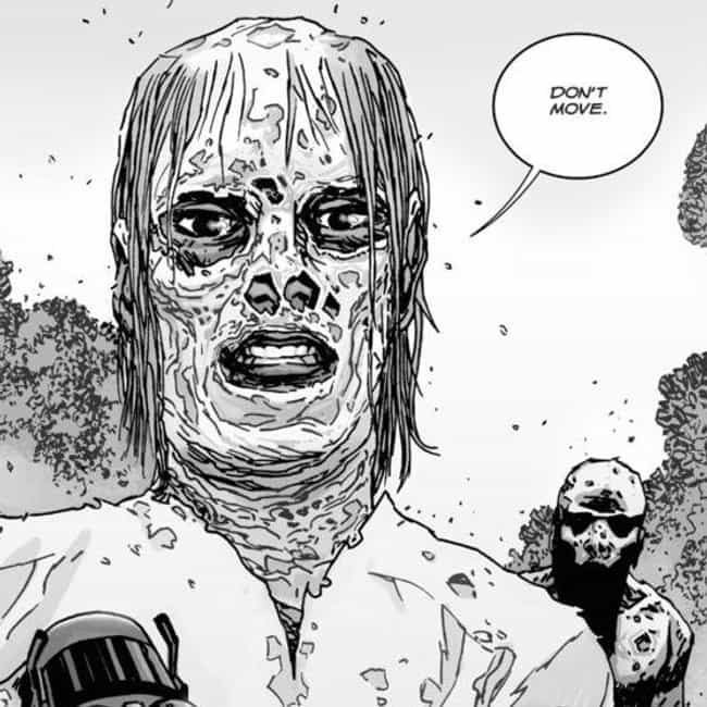 They Don't Have Names is listed (or ranked) 3 on the list Everything You Need To Know About 'The Walking Dead's' New Villains, The Whisperers