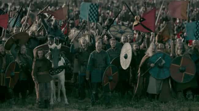 Thousands Of Vicious Warriors ... is listed (or ranked) 8 on the list What It Was Like To Be On The Front Lines Of A Viking Raid