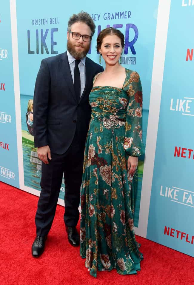 Seth Rogen & Lauren ... is listed (or ranked) 4 on the list Celebrity Couples Who Married Without Prenups