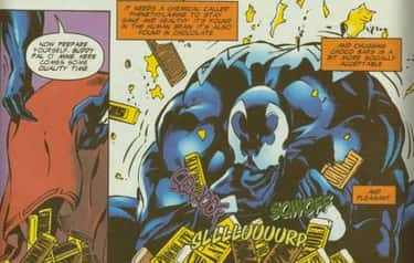 Venom Historically Consumes Ch is listed (or ranked) 2 on the list 14 Venom Easter Eggs You Definitely Missed