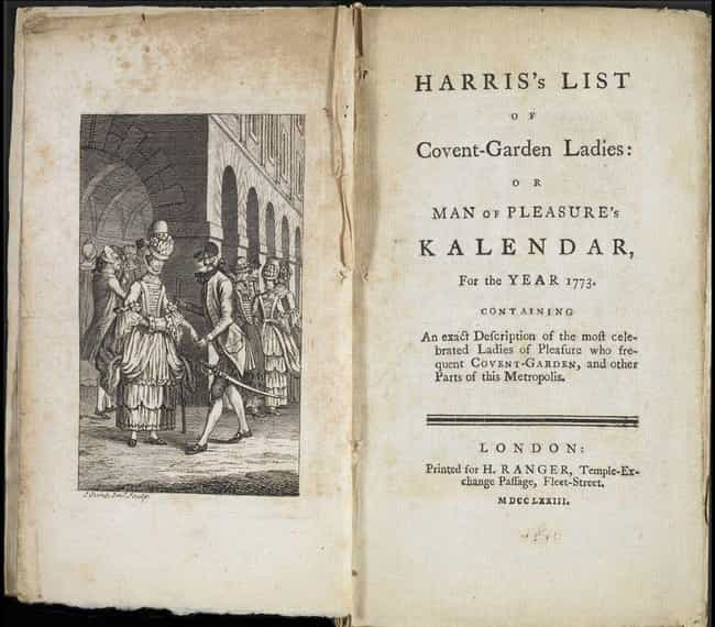 There Really Was A List That D... is listed (or ranked) 2 on the list Everything Hulu's 'Harlots' Gets Right (And Wrong) About Brothels In 18th-Century England