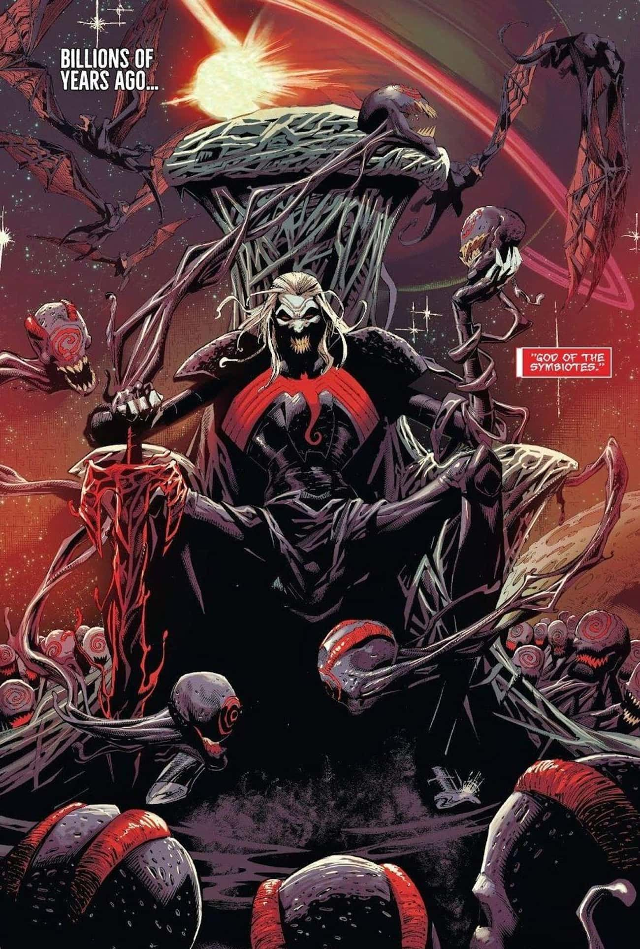 The Real Origin Begins Billion is listed (or ranked) 2 on the list The Real Origin Story Of The Venom Symbiote Is Much More Complicated Than You Think