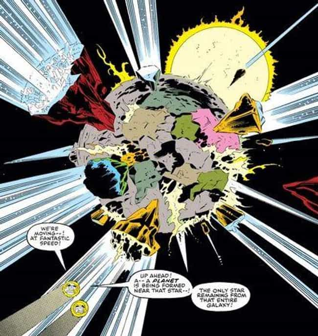 Tel-Kar Loses The Symbiote In ... is listed (or ranked) 8 on the list The Real Origin Story Of The Venom Symbiote Is Much More Complicated Than You Think