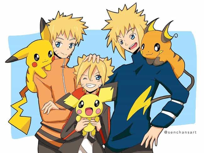 If The Hidden Leaf Had Pokemon is listed (or ranked) 4 on the list The 23 Most Incredible Naruto Crossover Art Mashups