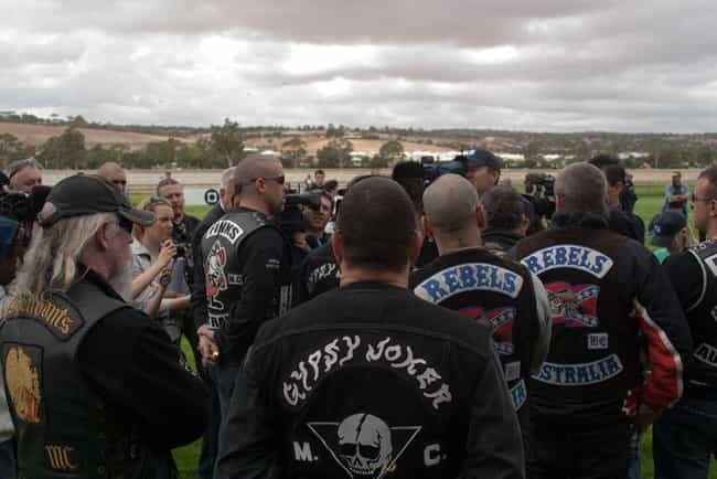 Meetings Have Strict Protocols is listed (or ranked) 1 on the list Rules Biker Gang Members Must Follow