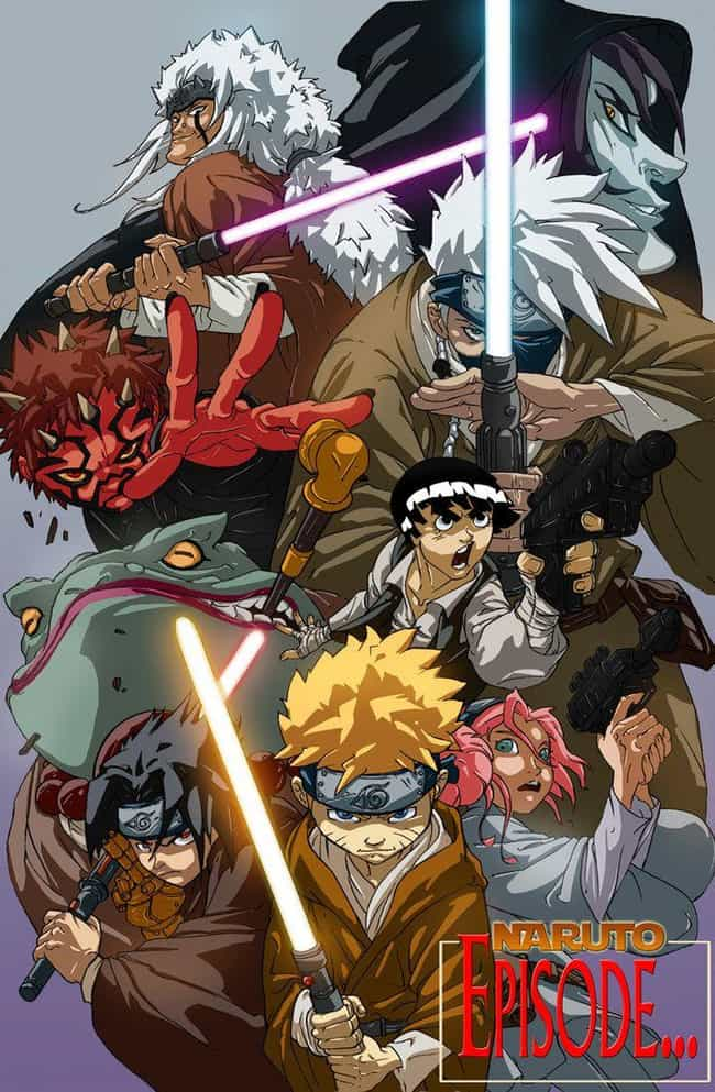 Star Wars X Naruto is listed (or ranked) 4 on the list The 23 Most Incredible Naruto Crossover Art Mashups