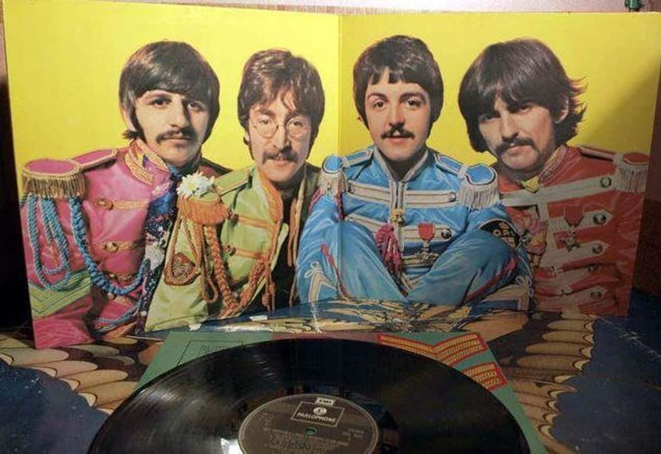 Salt And Pepper Packets Inspir is listed (or ranked) 1 on the list Behind The Scenes Of The Beatles' 'Sgt. Pepper's Lonely Hearts Club Band'
