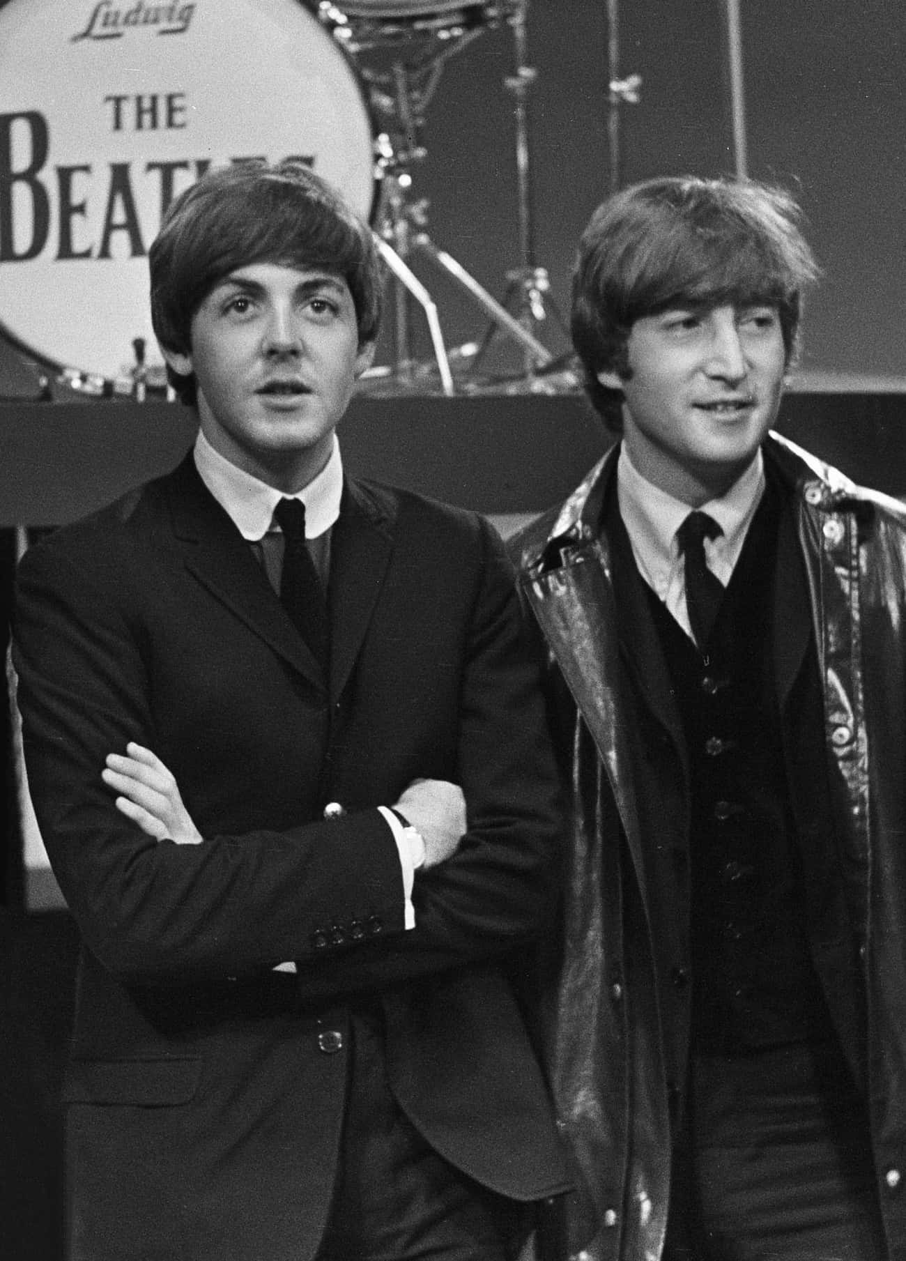 John Lennon And Paul McCartney is listed (or ranked) 4 on the list Behind The Scenes Of The Beatles' 'Sgt. Pepper's Lonely Hearts Club Band'