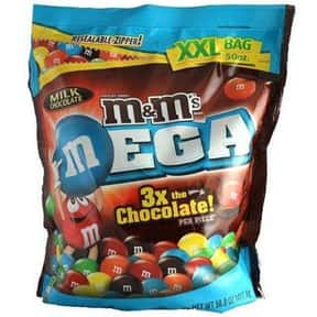 Mega M&Ms is listed (or ranked) 16 on the list The Best Flavors of M&Ms