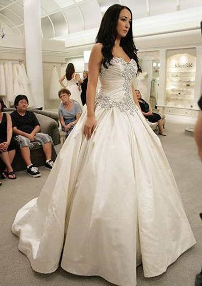 Designer Pnina Tornai's ... is listed (or ranked) 3 on the list Why 'Say Yes To The Dress' Is Way Less Glamorous Than It Seems